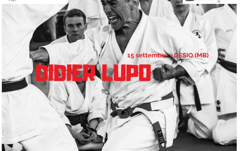 DESIO SPORT FESTIVAL 2019: a seminar with Didier Lupo