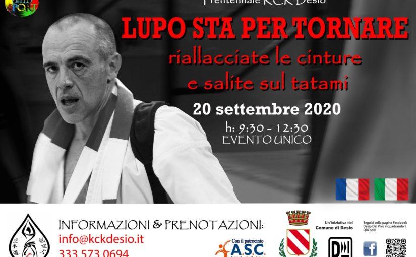 Festa dello Sport 2020: appuntamento con Didier Lupo